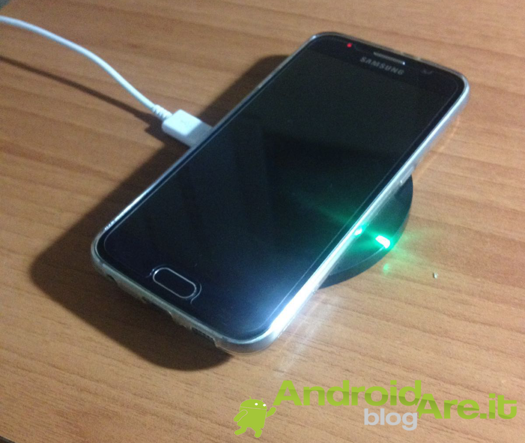 Wireless charger in funzione
