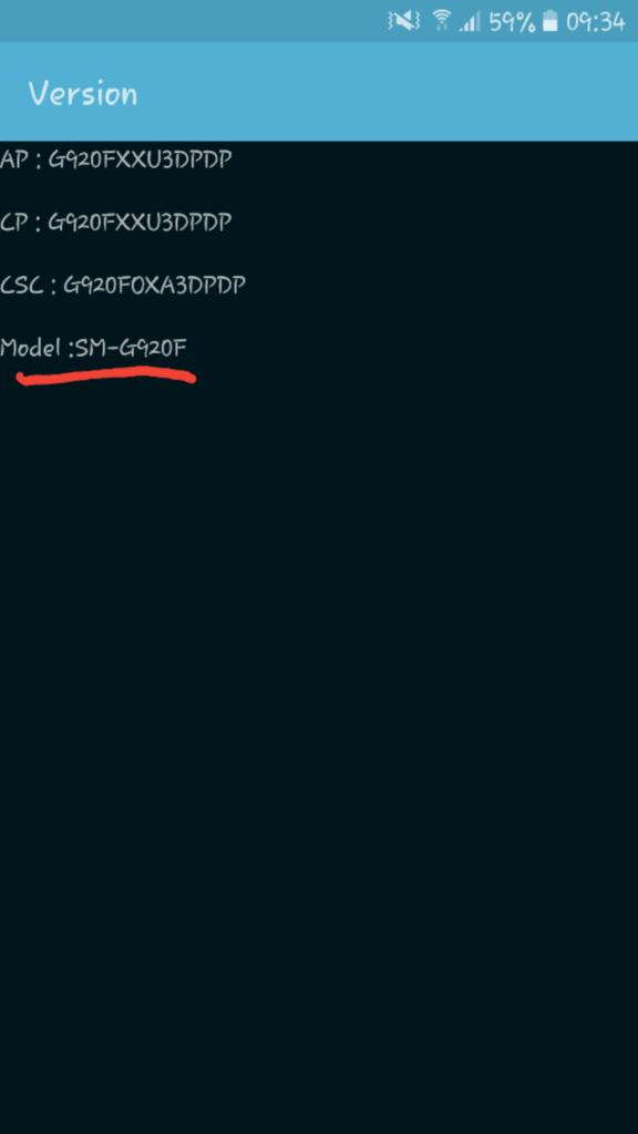 codice modello androidare