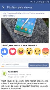 Metal for facebook