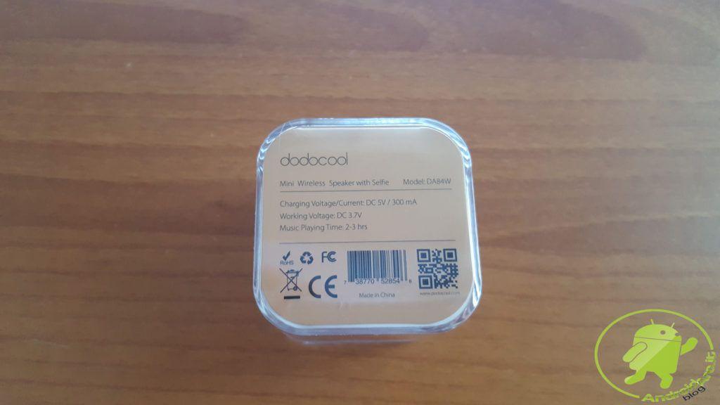 confezione posteriore mini speaker androidare