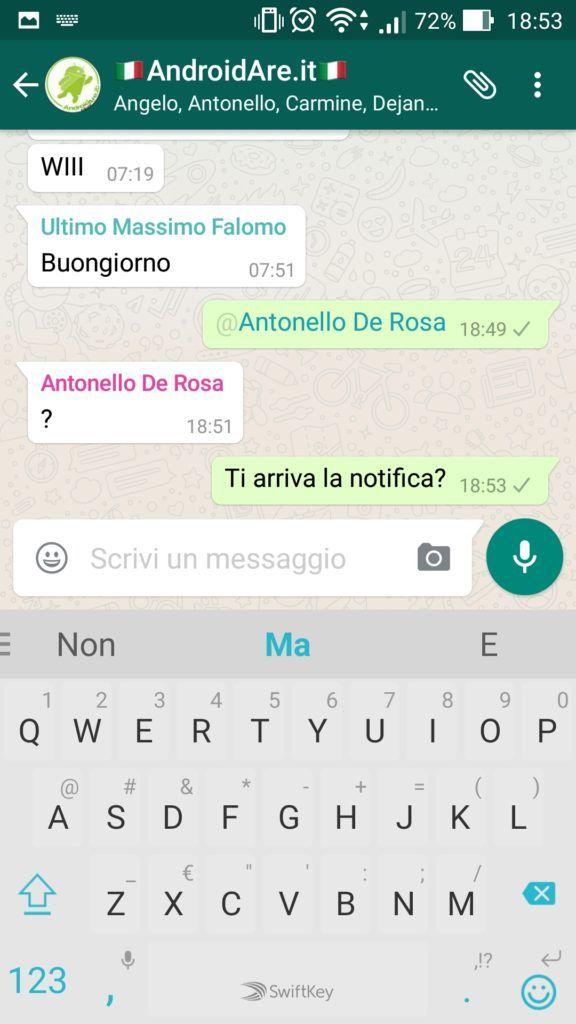 La novità di Whatsapp